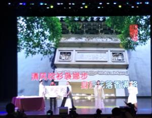 张凡凡参加第三届中国书画春节联欢晚会演唱歌曲并获奖